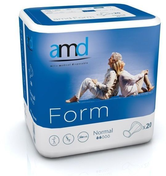 AMD Form Normal  - Incontinence Pads Pack of 20